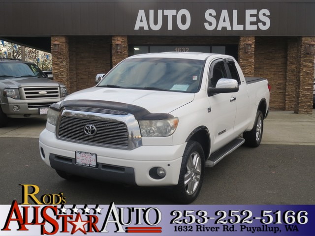 2007 Toyota Tundra LTD 4WD The CARFAX Buy Back Guarantee that comes with this vehicle means that y