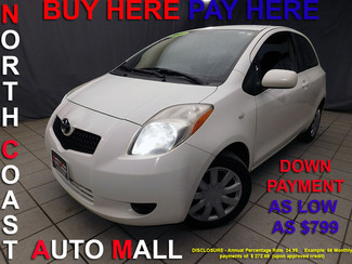 2007 Toyota Yaris As low as $799 DOWN in Cleveland, Ohio