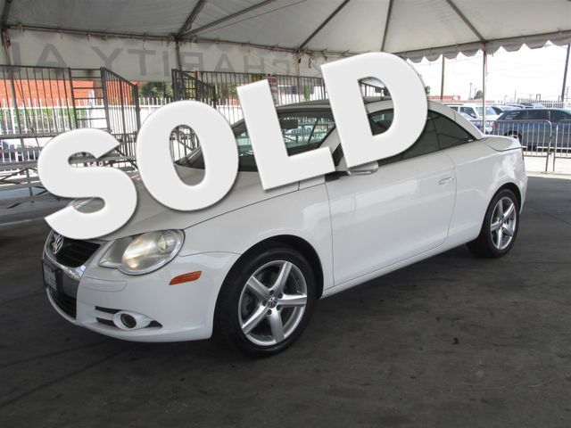 2007 Volkswagen Eos 20T Please call or e-mail to check availability All of our vehicles are av