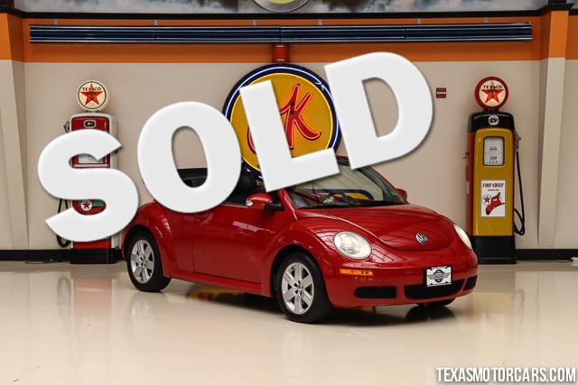 2007 Volkswagen New Beetle  VIN 3VWRF31Y37M416348 58k miles  AMFM CD Player Anti-Theft AC