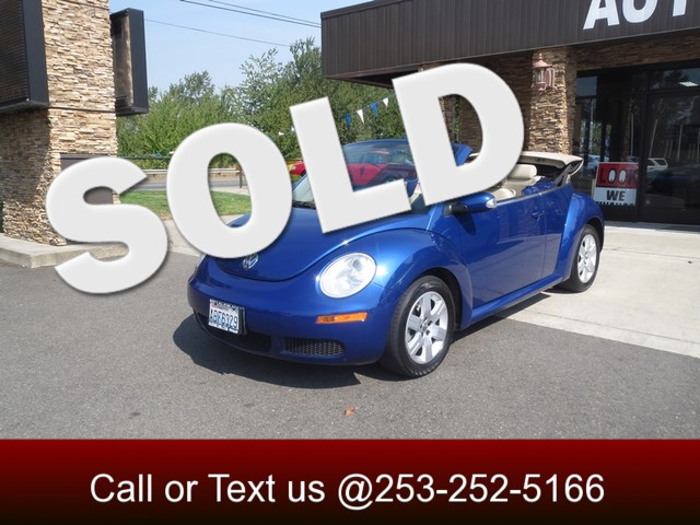 2007 Volkswagen New Beetle The CARFAX Buy Back Guarantee that comes with this vehicle means that y