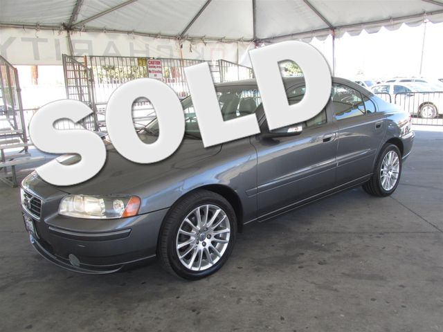2007 Volvo S60 25L Turbo Please call or e-mail to check availability All of our vehicles are a