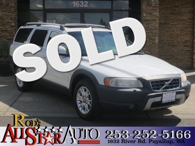2007 Volvo XC70 AWD The CARFAX Buy Back Guarantee that comes with this vehicle means that you can