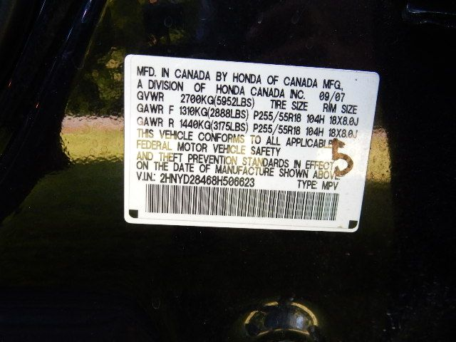 2008 Acura MDX Tech/Entertainment Pkg 3RD ROW SEAT Leesburg, Virginia 60