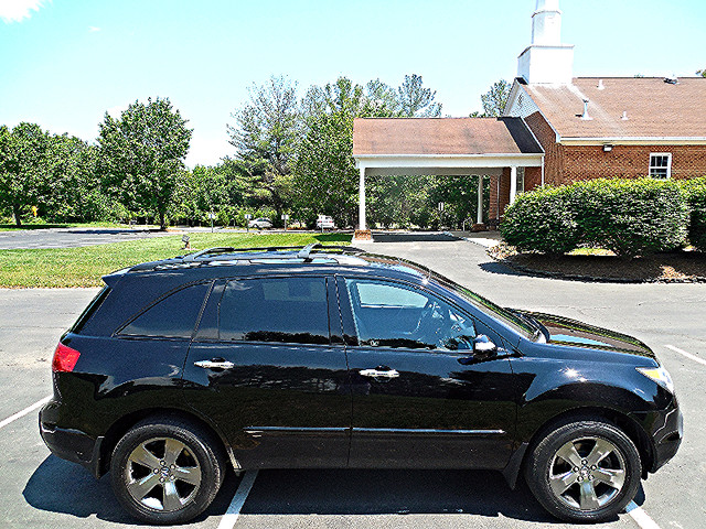 2008 Acura MDX Sport/Entertainment Pkg Leesburg, Virginia 4