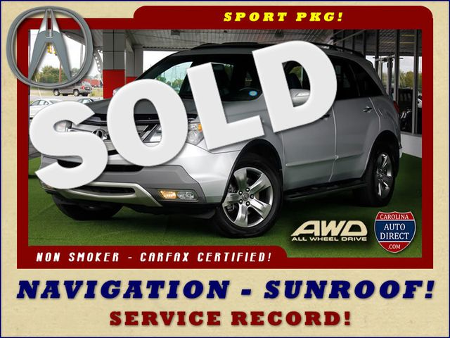 2008 Acura MDX Sport Pkg AWD - NAVIGATION - SUNROOF! Mooresville , NC 0