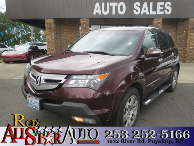2008 Acura MDX Tech Pkg The CARFAX Buy Back Guarantee that comes with this vehicle means that you