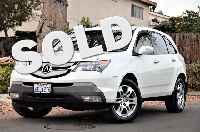 2008 Acura MDX Tech/Entertainment Pkg Reseda, CA 0