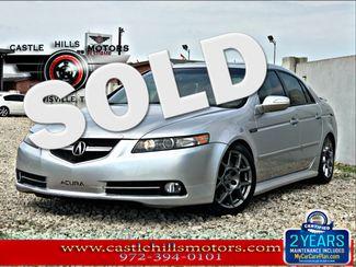 2008 Acura TL - NAV, Leather, Sunroof, S-Pkg Type-S | Lewisville, Texas | Castle Hills Motors in Lewisville Texas