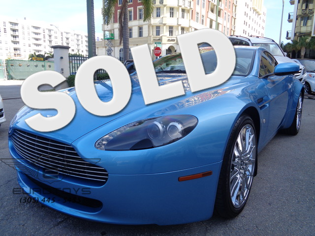 2008 Aston Martin Vantage Thisi is a well kept  mint condition Aston Martin coupe with only 6 15