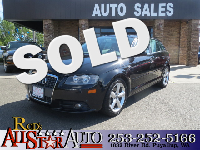 2008 Audi A3 The CARFAX Buy Back Guarantee that comes with this vehicle means that you can buy wit