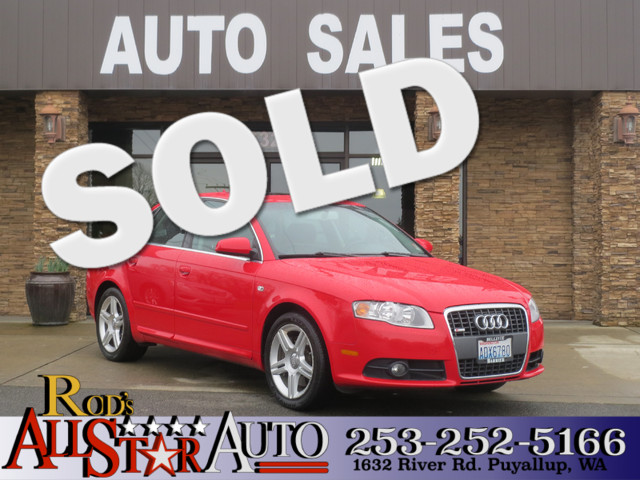 2008 Audi A4 AWD 20T Beautiful red used Audi A4 Turbocharged 20T Fully loaded with black leath