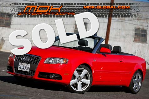 2008 Audi A4 2.0T - S-Line Sport pkg - Convertible in Los Angeles