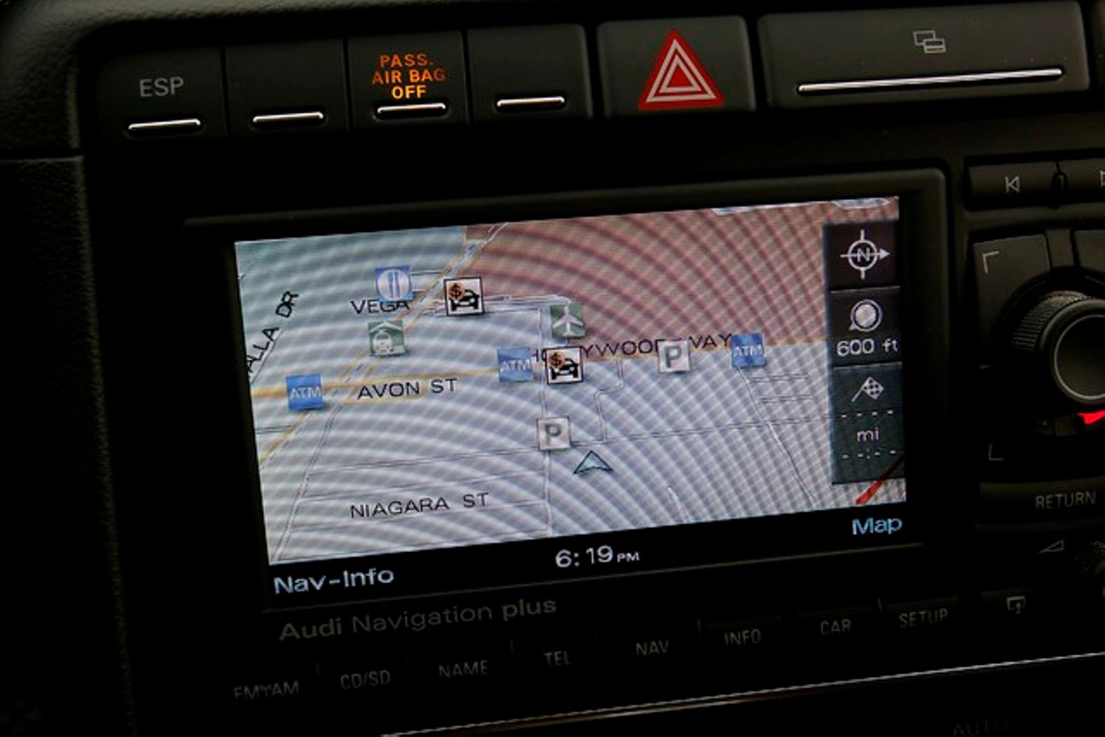 Audi A T Sline Sport Pkg Navigation City California - Los angeles navigation map