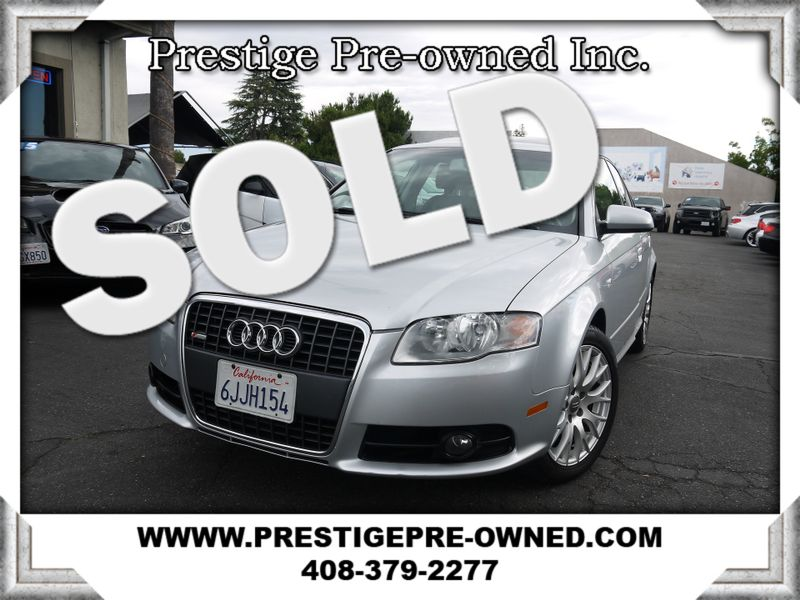 2008 Audi A4 2.0T QUATTRO S-LINE ((**AWD**))  in Campbell CA