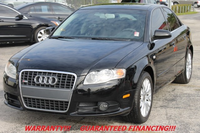 2008 Audi A4 20T  WARRANTY ONLY 51K MILES CARFAX CERTIFIED AUTOCHECK CERTIFIED 1 OWNER EX
