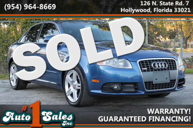2008 Audi A4 20T  WARRANTY CARFAX CERTIFIED AUTOCHECK CERTIFIED 1 OWNER 18 SERVICE RECORDS