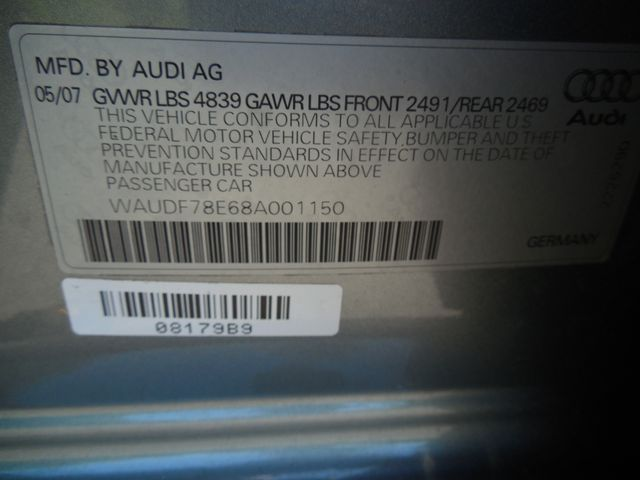 2008 Audi A4 2.0T QUATTRO AWD Leesburg, Virginia 32