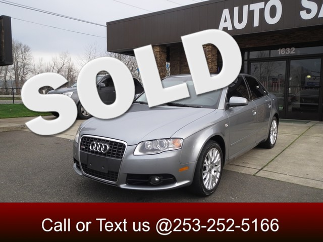 2008 Audi A4 20T AWD Come take a look at our one owner Audi A4 This German luxury sedan comes equ