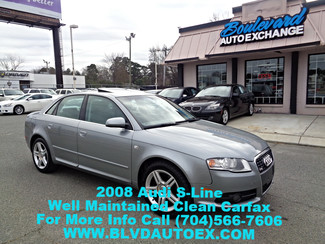 2008 Audi A4-SLINE 2.0T Charlotte, North Carolina 1