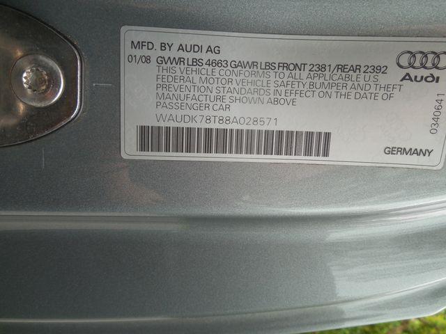 2008 Audi A5 6-Speed Manual  QUATTRO Leesburg, Virginia 27