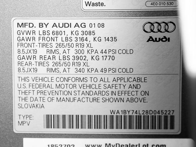 2008 Audi Q7 3.6L Premium Burbank, CA 30