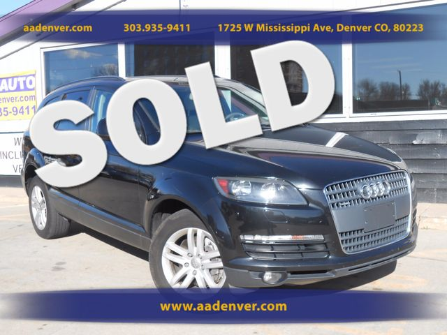 2008 Audi Q7 3.6L | Denver, CO | A&A Automotive of Denver in Denver CO