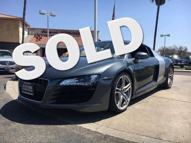 2008 Audi R8 You wont lack the horsepower or torque you need when driving this powerful V8Youll