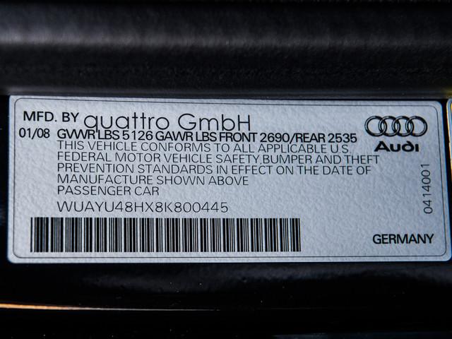 2008 Audi RS4 Cabriolet Burbank, CA 11