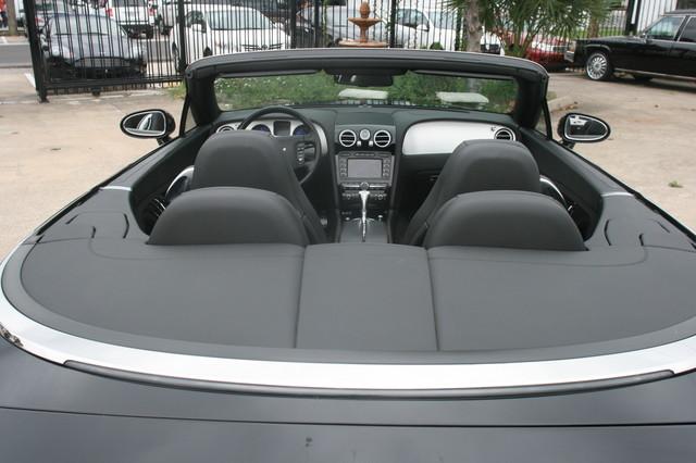 2008 Bentley Continental GTC Houston, Texas 14