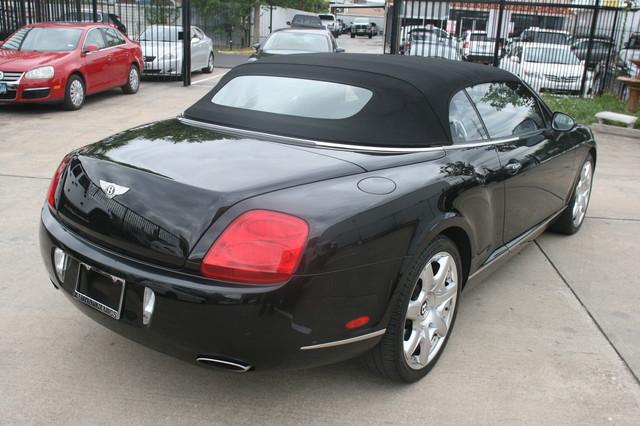 2008 Bentley Continental GTC Houston, Texas 7