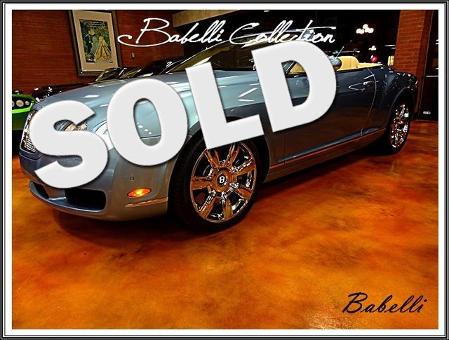 2008 Bentley Continental GTC San Diego, California 0