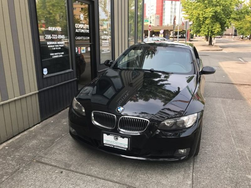 2008 BMW 328i Convertible 63000 Miles Local History Sport Premium Comfort Access Logic7 Sound Packages  city Washington  Complete Automotive  in Seattle, Washington
