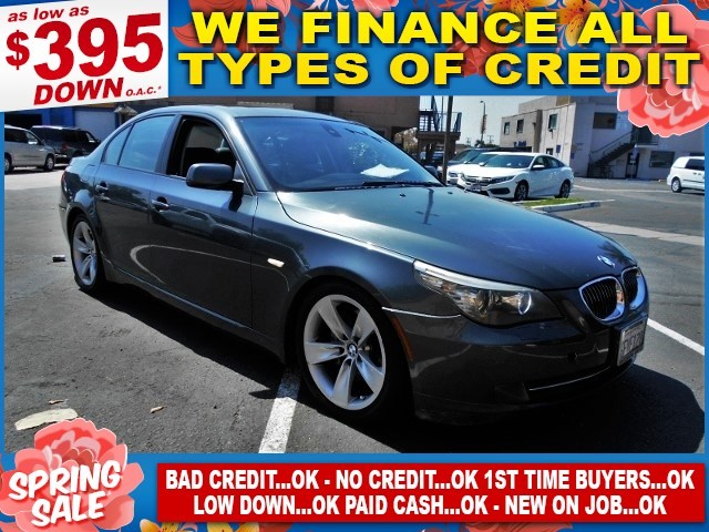 2008 BMW 528i I Limited warranty included to assure your worry-free purchase AutoCheck report is
