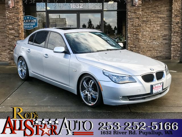 2008 BMW 535i The CARFAX Buy Back Guarantee that comes with this vehicle means that you can buy wi