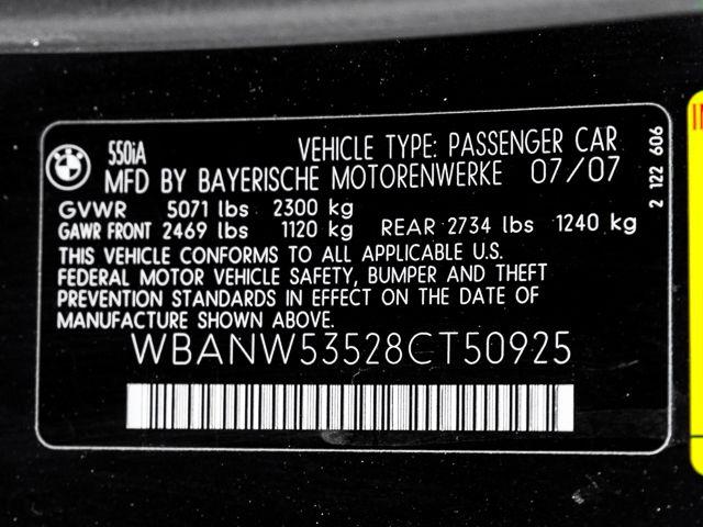 2008 BMW 550i Burbank, CA 25