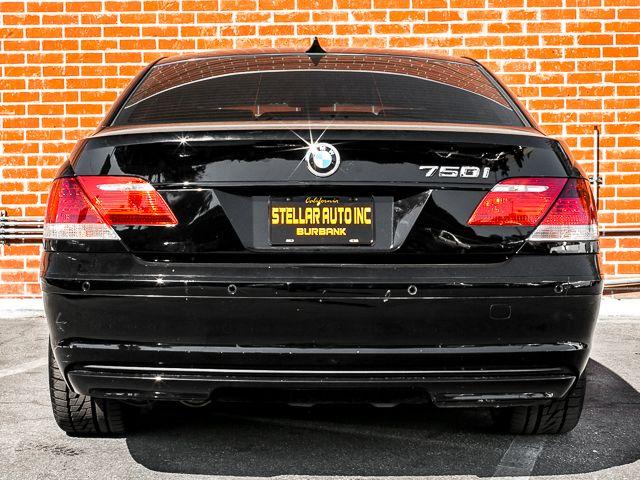 2008 BMW 750i Burbank, CA 3