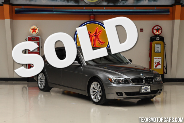2008 BMW 750Li This Clean Carfax 2008 BMW 750Li is in great shape with only 76 449 miles The 750L