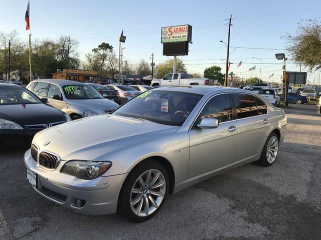 2008 BMW 750Li Houston, TX 0