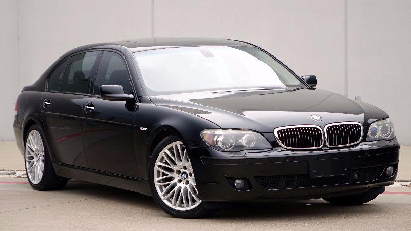 BMW Li Sport Pkg NAV EZ Finance Plano TX - 2008 bmw 750il