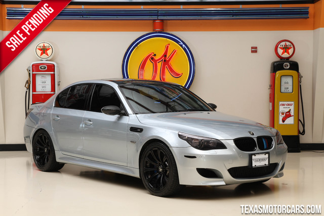 2008 BMW M Models M5 This 2008 BMW M5 is in great shape with only 94 040 miles The M5 has a 500-