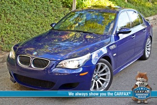2008 BMW M Models M5 6 SPEED MANUAL ONLY 57K MLS 1-OWNER HEAD-UP DISPLAY NEW TIRES Woodland Hills, CA