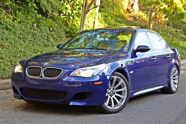 2008 BMW M Models M5 6 SPEED MANUAL ONLY 57K MLS 1-OWNER HEAD-UP DISPLAY NEW TIRES Woodland Hills, CA 1
