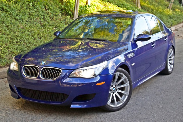 2008 BMW M Models M5 6 SPEED MANUAL ONLY 57K MLS 1-OWNER HEAD-UP DISPLAY NEW TIRES Woodland Hills, CA 2