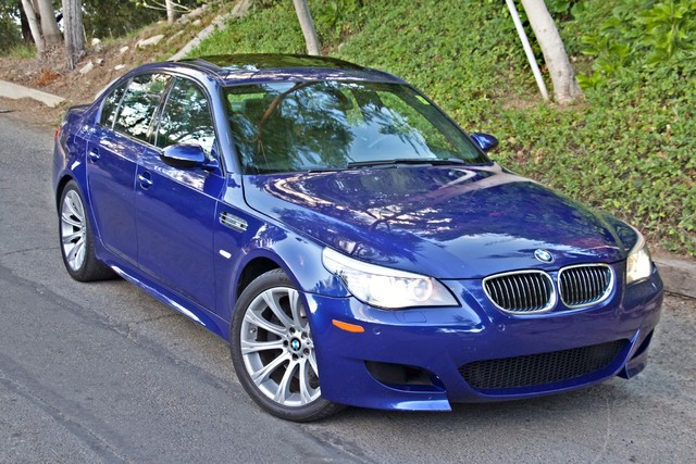 2008 BMW M Models M5 6 SPEED MANUAL ONLY 57K MLS 1-OWNER HEAD-UP DISPLAY NEW TIRES Woodland Hills, CA 38