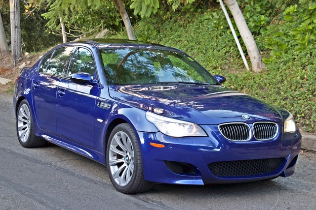 2008 BMW M Models M5 6 SPEED MANUAL ONLY 57K MLS 1-OWNER HEAD-UP DISPLAY NEW TIRES Woodland Hills, CA 46
