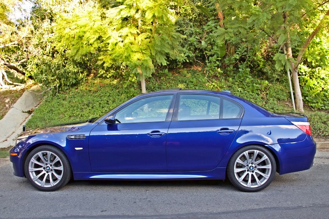 2008 BMW M Models M5 6 SPEED MANUAL ONLY 57K MLS 1-OWNER HEAD-UP DISPLAY NEW TIRES Woodland Hills, CA 8
