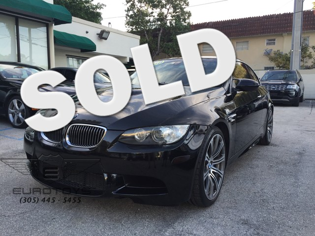 2008 BMW M Models M3 Just got it Perfect conditions great car with NAV System Convertible 2 Doo