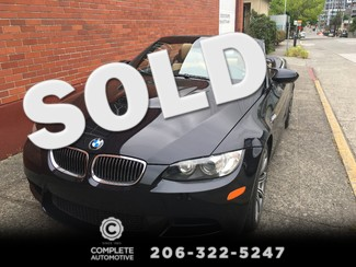 "2008 BMW M3 Convertible 6-Speed Manual Transmission Technology Premium Packages Heated Seat 19"" Alloys Seattle, Washington"