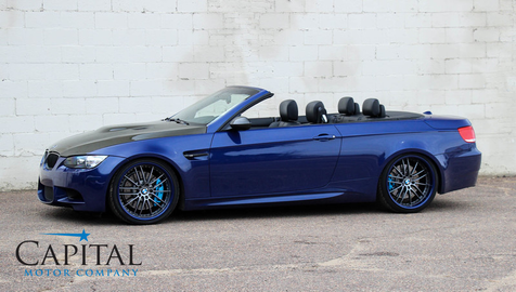 2008 BMW M3 Hardtop Convertible w/Supercharged 575hp V8, Professional Sound System in Eau Claire